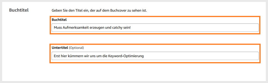 Keywordanalyse auf Amazon KDP 1