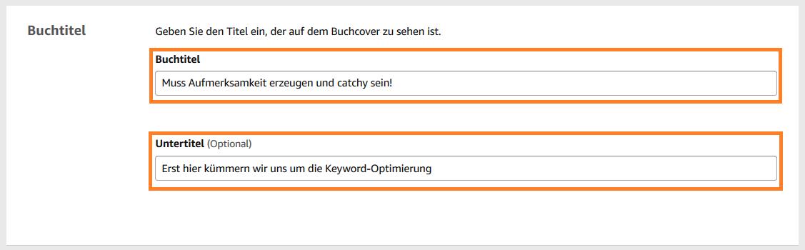 Keywordanalyse auf Amazon KDP 1