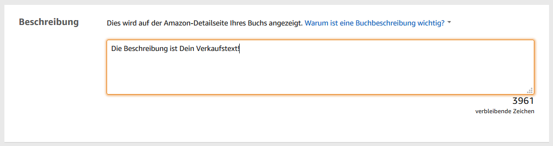 Keywordanalyse auf Amazon KDP 2