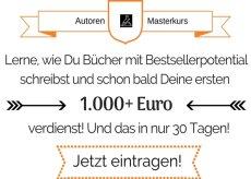 Autorenkurs - 1.000 Euro in nur 30 Tagen auf Amazon KDP neu